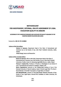 NJ_Methodology for Legal Education Quality Assessment_ENG_May 24_2017_final