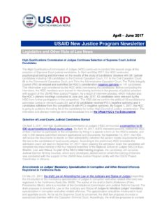 New Justice_Newsletter_April-June_2017_ENG