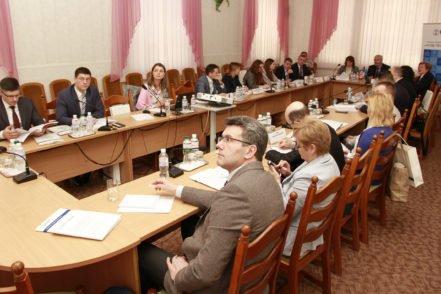 Учасники під час презентації «Судова влада вільна від корупції» 30 березня 2017 року в Києві. ФОТО: Програма USAID «Нове правосуддя»