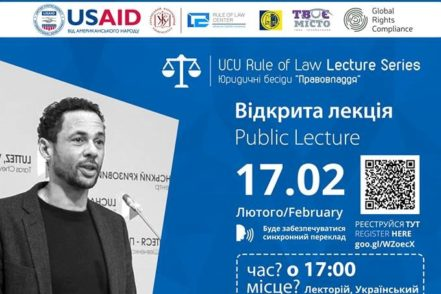 WAYNE JORDASH DELIVERS RULE OF LAW LECTURE AT UKRAINIAN CATHOLIC UNIVERSITY