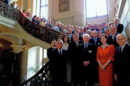 Учасники Генеральної Асамблеї Європейської мережі рад з питань правосуддя 7 червня 2017 року в Парижі, Франція. ФОТО: Європейська мережа рад з питань правосуддя
