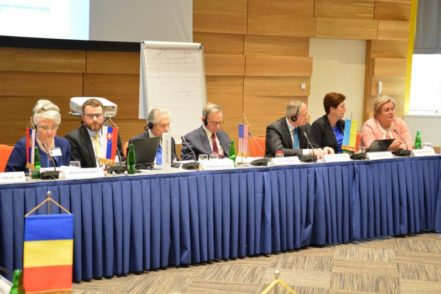 Учасники VII Конференції голів верховних судів країн Центральної та Східної Європи 6 червня 2017 року в Будапешті, Угорщина. ФОТО: Верховний Суд Угорщини