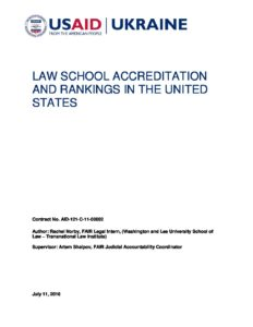 6_FAIR_Accreditation_and_Rankings_US_Law_Schools_Report_Norby_18_Jul_2016_ENG