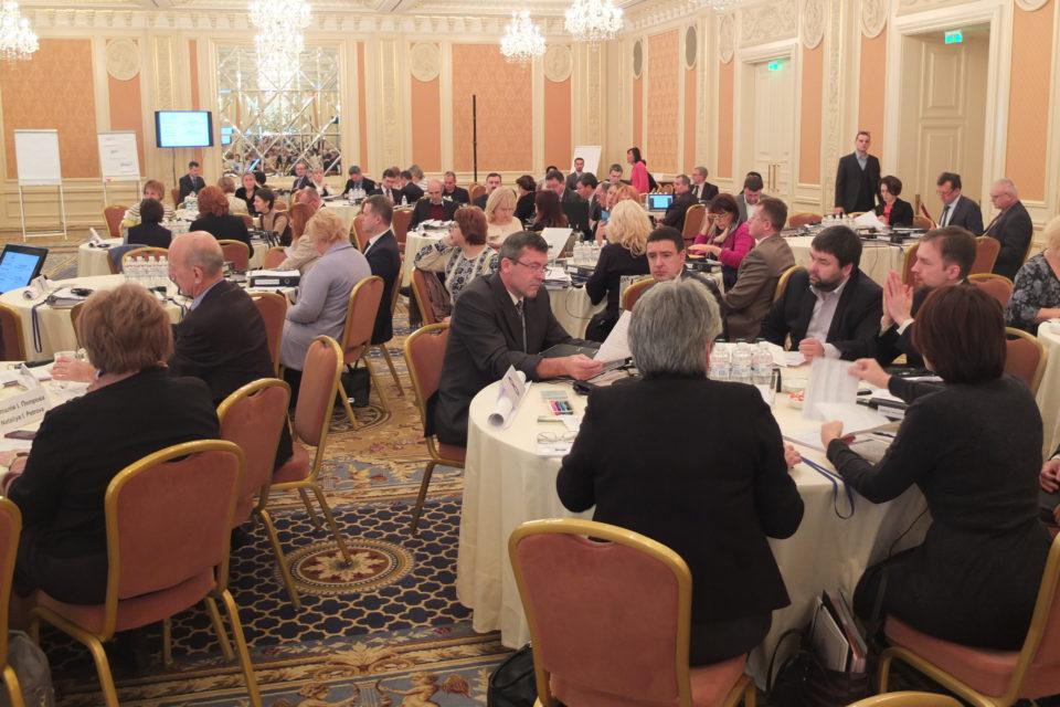 Новопризначені суддів Верховного суду під час тренінгу з суддівської етики та доброчесності 20 листопада 2017, Київ. ФОТО: Програма USAID «Нове правосуддя»