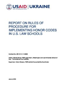 1_FAIR_Law_School_Honor_Code_Rules_of_Procedure_Norby_8_Jun_2016_ENG